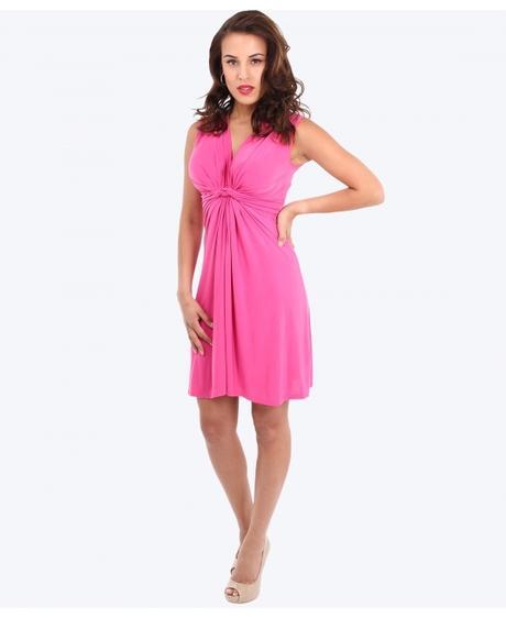 Tmavě růžové společenské šaty 46-50, 50