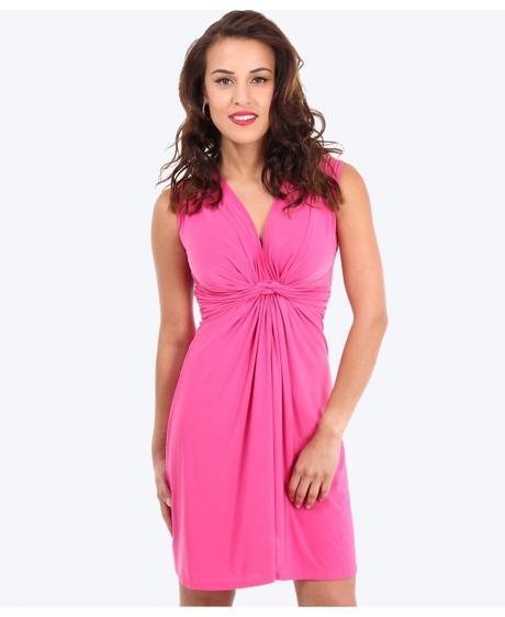 Tmavě růžové společenské šaty 46-50, XL