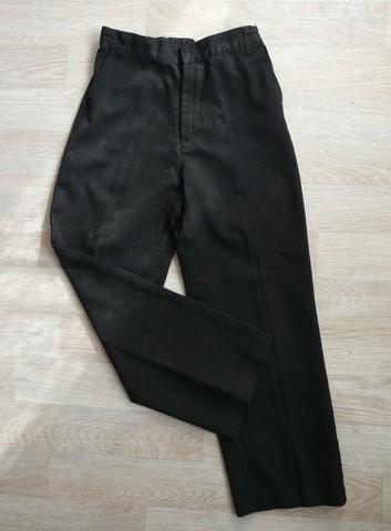 Tmavě šedé společenské kalhoty, 8-9 let, 134
