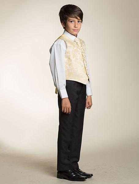 Zapůjčím společenský, svatební dětský oblek, 146