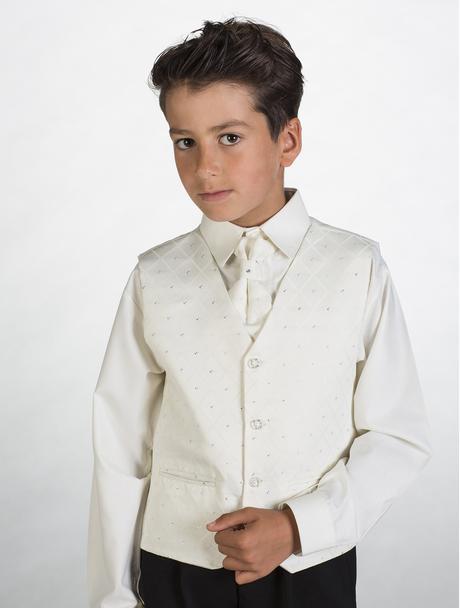 Zapůjčím společenský, svatební dětský oblek, 56
