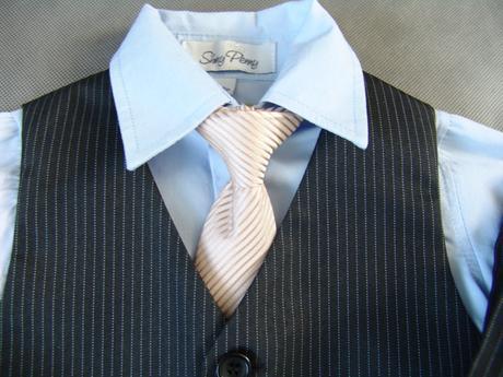 Zapůjčím společenský, svatební dětský oblek, 80