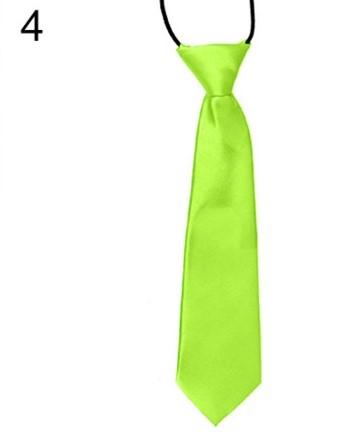 Zelená dětská kravata,
