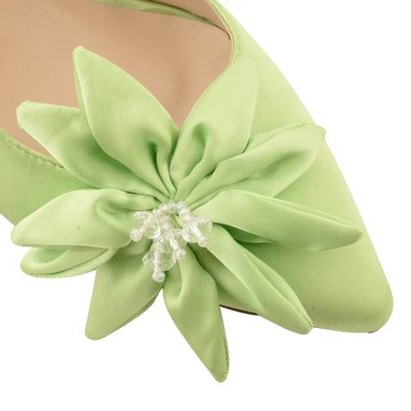 Zelené společenské, plesové sandálky, 36-41, 41