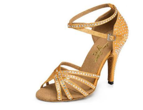 Zlaté, černé plesové, taneční boty, 35-42, 38