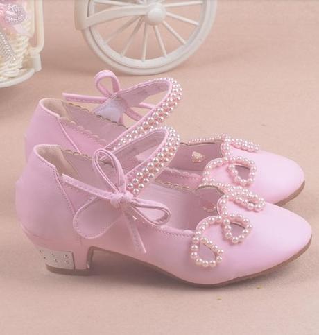 Zlaté dětské společenské boty, 26-36, 29