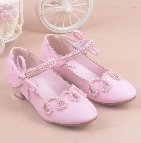 Zlaté dětské společenské boty, 26-36, 34