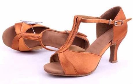 Zlaté plesové, taneční sandálky - 36-41, 36