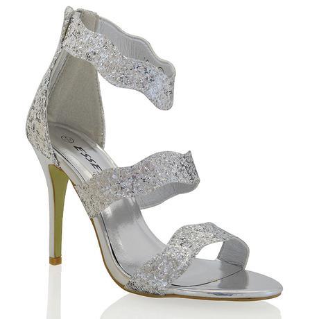 Zlaté plesové, taneční sandálky - 36-41, 38