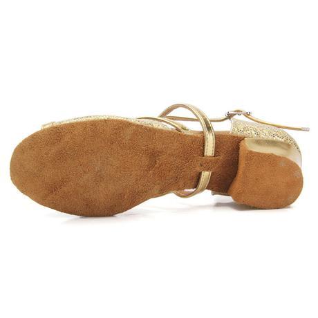 Zlaté, růžové, stříbrné taneční boty, sandálky, 34