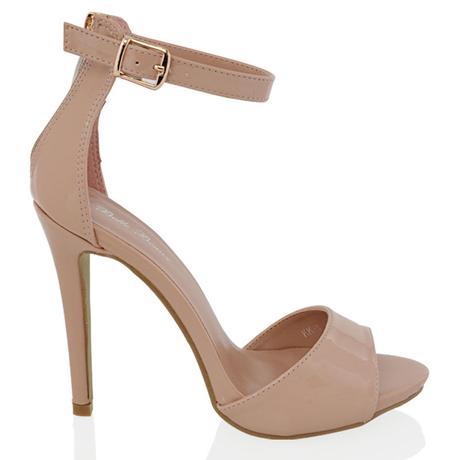 Zlaté společenské, plesové sandálky, 36-41, 36