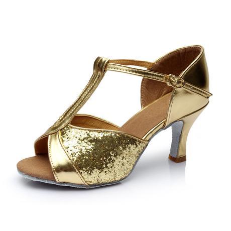 Zlaté taneční střevíčky, boty, 38