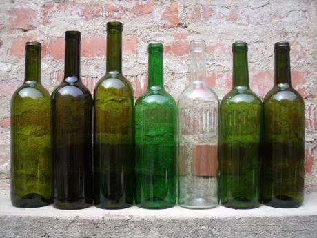 Láhve na víno 0,7l - na výslužky,