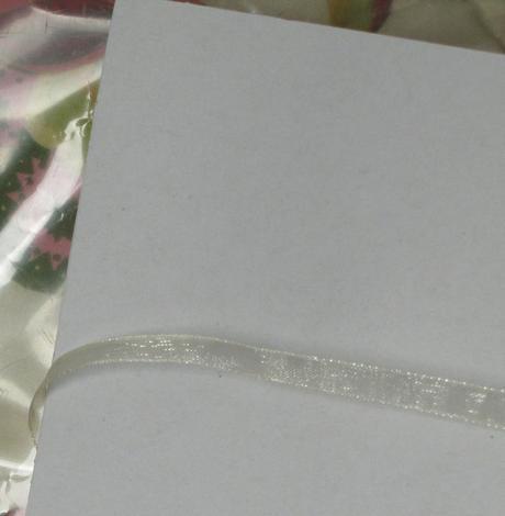 Šifonová světle meruňková stuha šíře 12mm - 4metry,