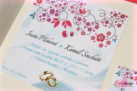 Moderné svadobné oznámenia za nízku cenu,