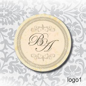 Svadobné logo NOVINKA,