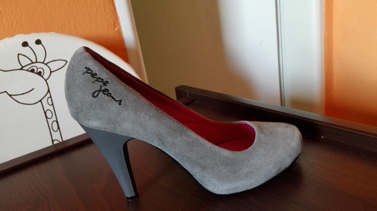 469023e5c395f Dámske topánky na vysokom opätku - pepe jeans, 37 - 25 € | Svadobný ...