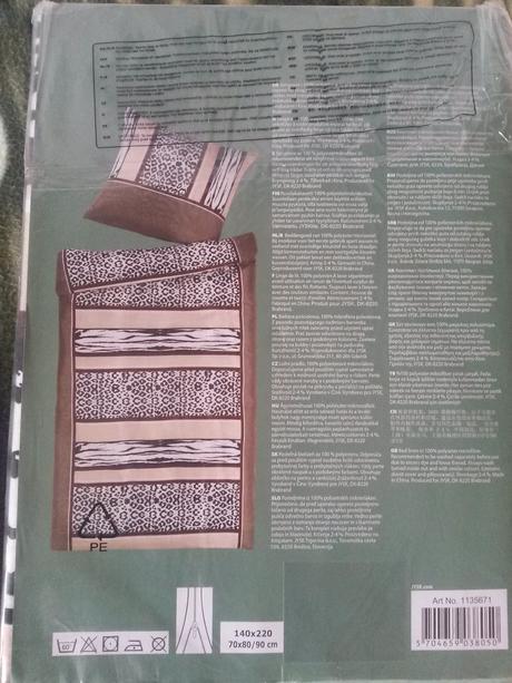 návlečky na 2 postele 140x220cm,