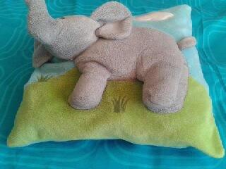 vankúšik sloník,