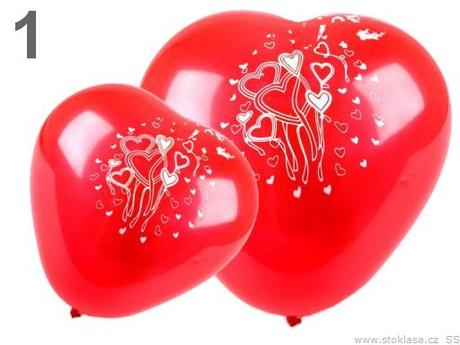 Balóniky  SRDCE -AKCIA,