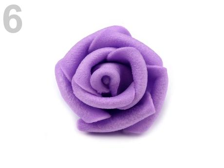 Ružičky k dekorácií, rôzne farby 3 cm,