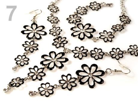 Sada náhrdelník, náušnice, náramok ELISA,