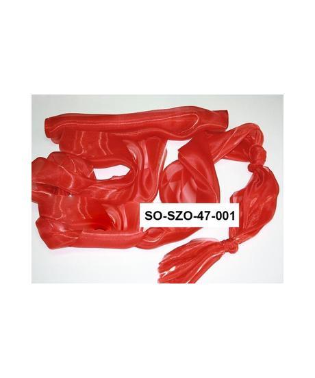 Saténová organza 47 cm x 10 m bordová,