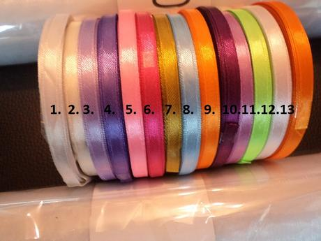 Stuhy farebné 6 mm/32 m -1,30,