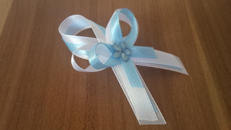 Svadobné pierka jemné nebíčkovo modrá,