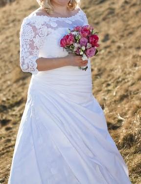 svadobné šaty v 44 - 48, 46