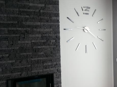 Moderní nástěnné 3D hodiny,