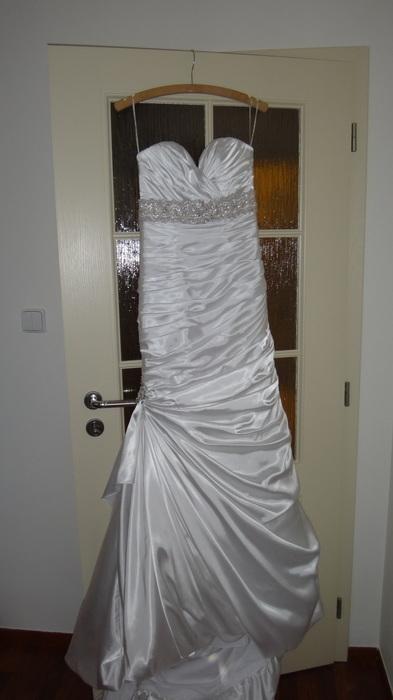 Luxusní svatební šaty Adorae + psaníčko zdarma, 36