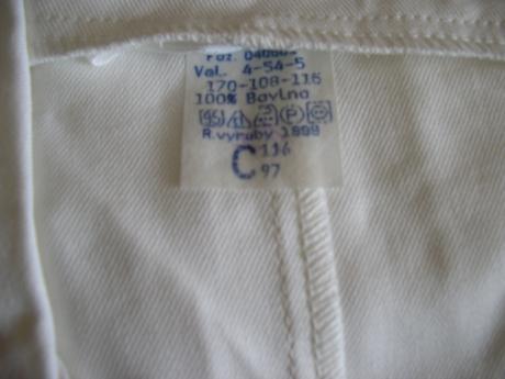 1202. Pracovný plášť nenos. č. 54,