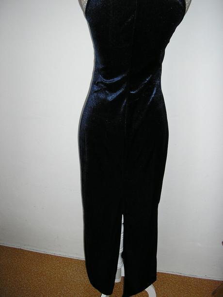 1257. Komplet dlhe šaty a vrch, M