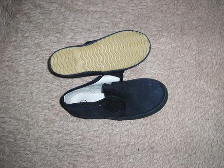 1315. Tm. modré platené topánky, 27