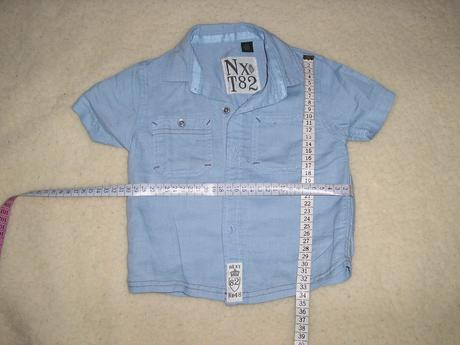 1517. Modrá NEXT košeľa , 80