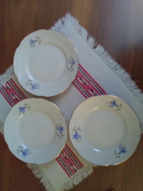 1867. Dezertné tanieriky,