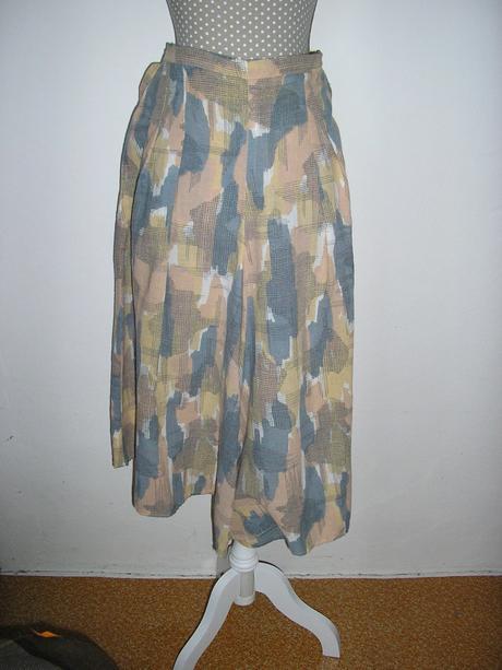 281. Nohavicová sukňa, L