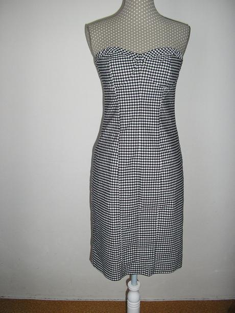 492. Kockované šaty OASIS, 38