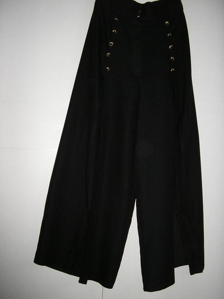578. Nohavicová sukňa dĺhá, L