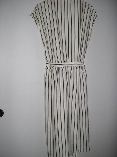 58 Prúžkované šaty, L