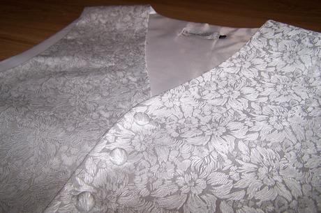 svadobná vesta + kravata + manžetové gombíky, 40