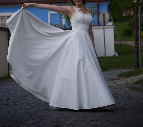 Originalne saty - dizajn Kabelkova-Oplocka (177cm), 38