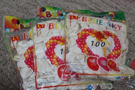 Balónky 400 ks,