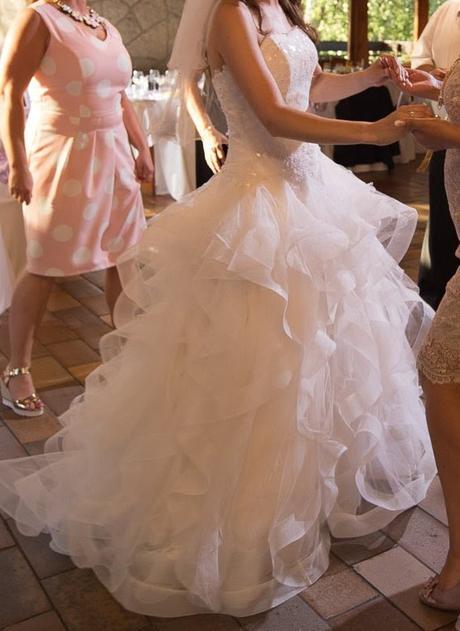Svatební šaty Pronovias Leante, 34