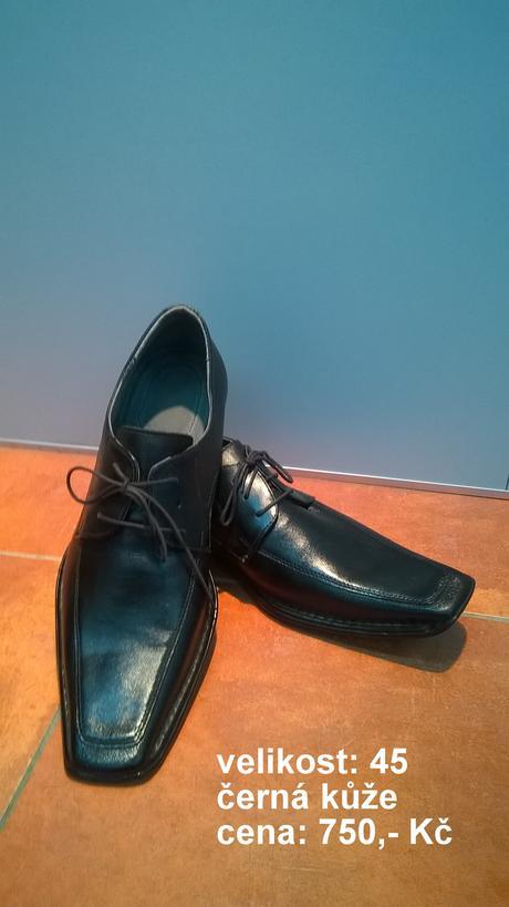 pánské společenské boty, 45