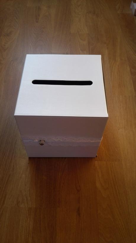 Krabice na blahopřání/pokladnicka,