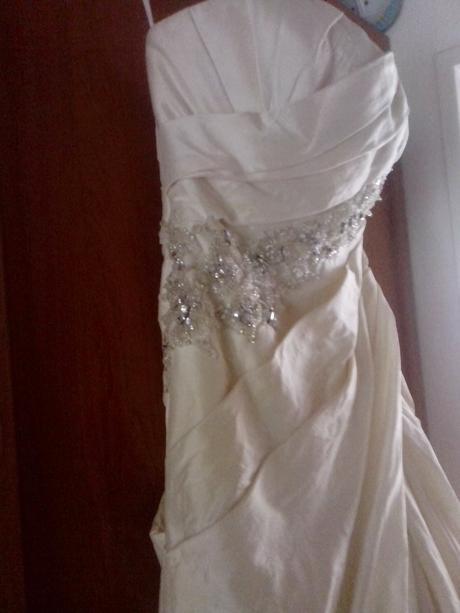 Italské svatební šaty Enzoani Blue, 38