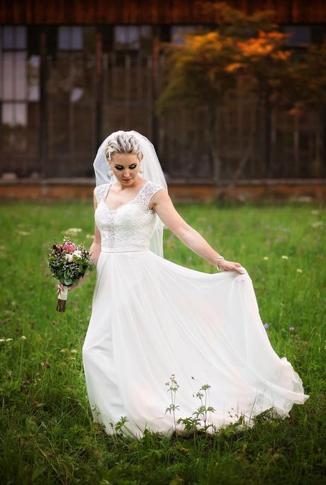 Svadobné šaty 36 - 38, 38