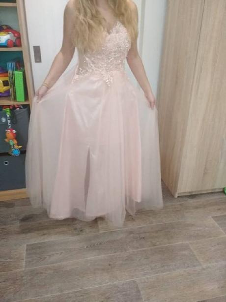 šaty starorůžové , 42